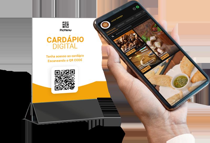 Cardápio Digital via QR Code Grátis